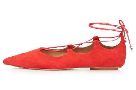 topshop red