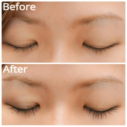 Lancome Hypnose Drama Mascara before and after