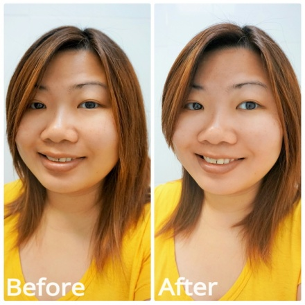 tellmeyblog - antipodes kiwi seed oil eye cream _before+after