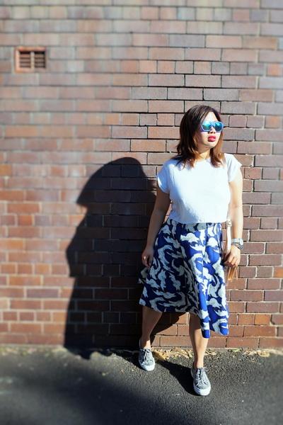tellmeyblog - superga 2750 + h&m midi skirt (1)