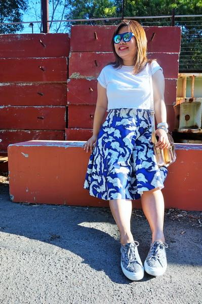 tellmeyblog - superga 2750 + h&m midi skirt (2)