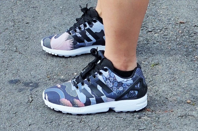 Print on Print: Adidas Originals Rita Ora ZX Flux and Bomber Jacket | TELL ME, Y..