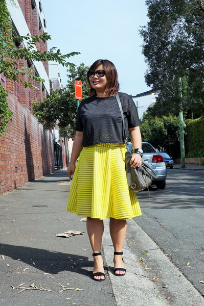 tellmeyblog - isla top + h&m stripe lace midi skirt + atmos&here sandals + world recycle week (2)