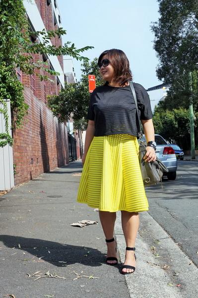 tellmeyblog - isla top + h&m stripe lace midi skirt + atmos&here sandals + world recycle week (4)