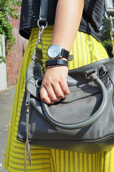 tellmeyblog - isla top + h&m stripe lace midi skirt + atmos&here sandals + world recycle week (6)