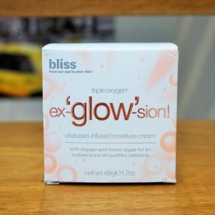 tellmeyblog - Bliss Triple Oxygen Ex-`glow'-sion Vitabead-infused Moisture Cream (1)