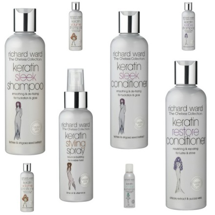 tellmeyblog - richard ward the chelse collection - keratin