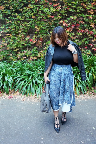 tellmeyblog - by johnny tuck front a-skirt and leather jacket (2)