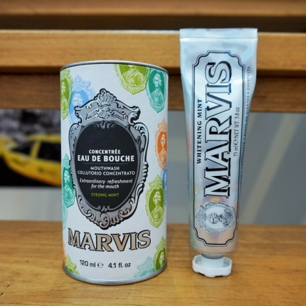 tellmeyblog - marvis whitening mint toothpaste and concentrated strong mint mouthwash (1)
