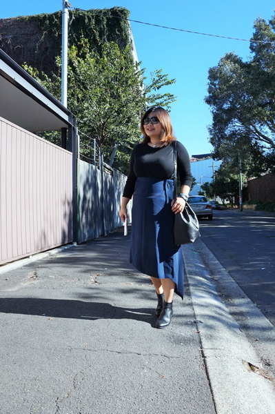 tellmeyblog - interval wrap skirt + miista boots + mon purse bucket bag (2)